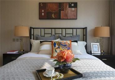 世贸诺丁山欧式古典卧室效果图