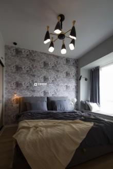 融景城(融景大道)北欧卧室效果图