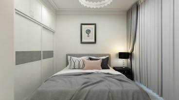 国宅东院现代轻奢卧室效果图
