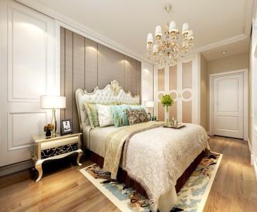 海信东山郡法式风格卧室效果图
