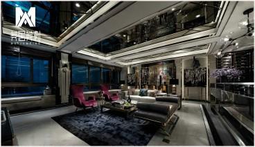 天骏悦城2#304法式风格客厅效果图