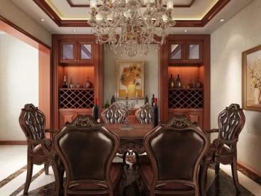 五洲观澜欧式古典客厅效果图