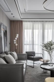 嘉洲花园洋房现代简约卧室效果图