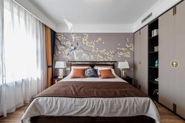 新中式新中式客厅效果图