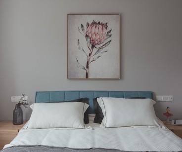 众安白马御府后现代卧室效果图