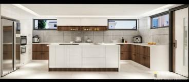 骏景湾·品峰法式风格厨房效果图