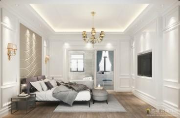 骏景湾·品峰法式风格卧室效果图