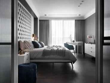 逍邦ART LIFE小区现代轻奢卧室效果图
