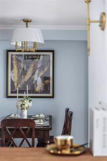 玉门花园现代轻奢客厅效果图