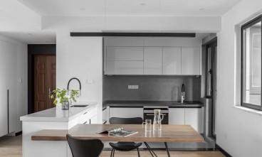 得一剑桥城现代简约厨房效果图