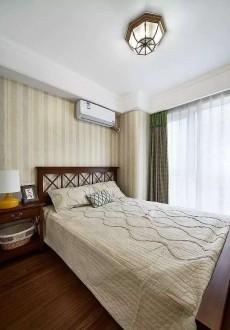 恒大山水城(复地路)美式卧室效果图