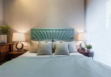 城邦花园简美卧室效果图
