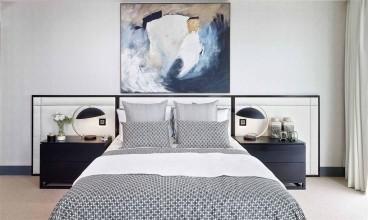 大成珺简美卧室效果图