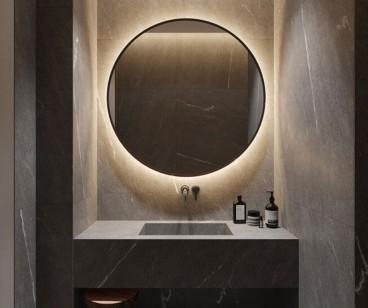现代风格设计,都市生活中最好的归属感!现代简约卫生间效果图