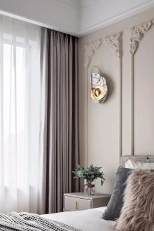120㎡简约三居,二胎四口之家的欢乐时光 现代简约卧室效果图