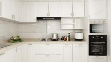 碧桂园翡翠蓝山(建设中)美式厨房效果图