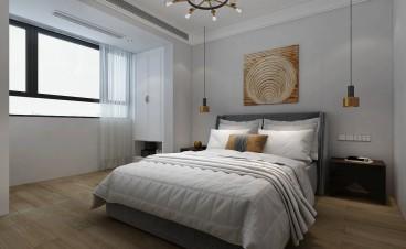 金玉山·御龙府(建设中)后现代卧室效果图