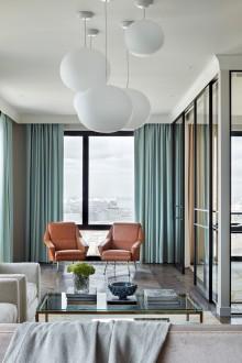 重庆花溪半岛高层区简美客厅效果图