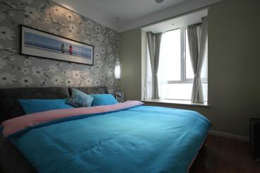 名居广场现代轻奢卧室效果图