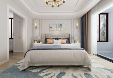 诺德名府(建设中)简美卧室效果图