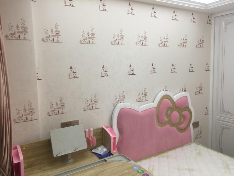 皇城汇璟花园美式卧室效果图