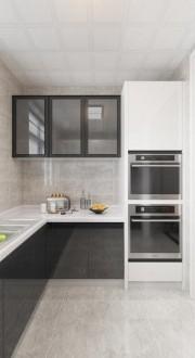 星際榮域(建設中)現代簡約廚房效果圖