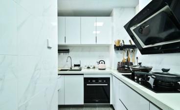 亿达·第一郡现代简约厨房效果图