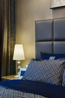万科中央公园欧式古典卧室效果图