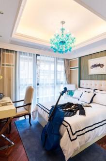 观园路法式风格卧室效果图