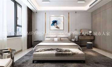 中海·珑玺藏式风格卧室效果图