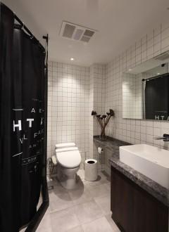 香榭春天现代简约卫生间效果图