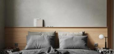 黄龙花园日式卧室效果图