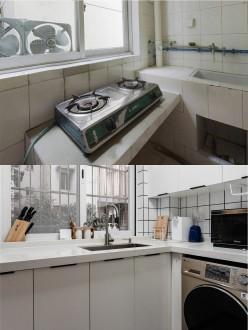 阳光丽庭现代简约厨房效果图