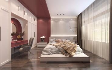 和林格尔县法式风格卧室效果图