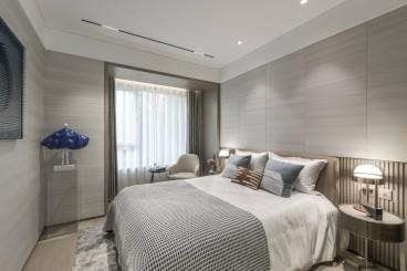 驰程天拓130㎡简约风格案例现代简约卧室效果图