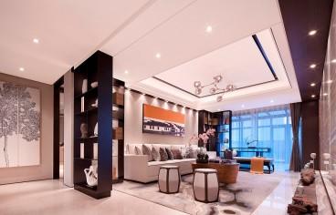 湘荆国际城法式风格客厅效果图