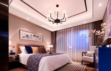 湘荆国际城法式风格卧室效果图