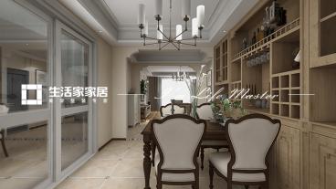 海尔·东城国际南区简美餐厅效果图