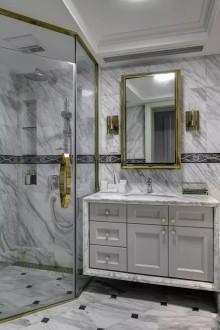 气质美式4室2厅,浪漫文艺的生活情调美式卫生间效果图