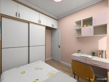 佳和家園現代簡約臥室效果圖