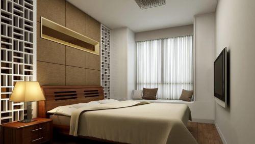 新中式臥室裝修圖片