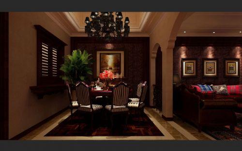 古典奢华欧式餐厅装潢