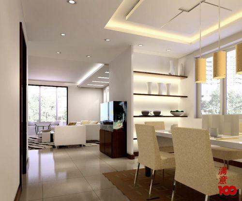 美式现代餐厅室内装饰效果图