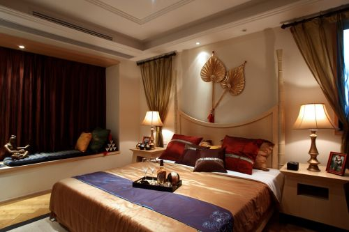 东南亚风格卧室效果图