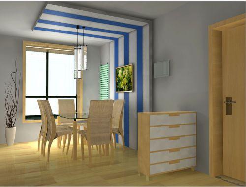 现代家居餐厅设计装饰