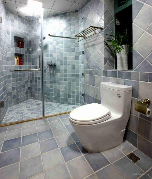 悠闲的卫生间设计