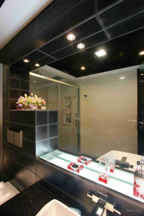 单身霸气的卫生间设计