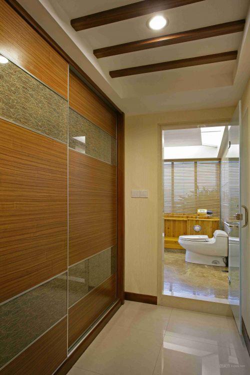 奢华木质卫生间设计