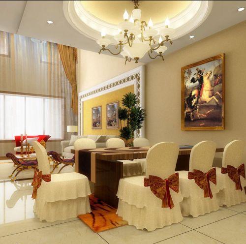 简欧风格餐厅家居室内装饰效果图