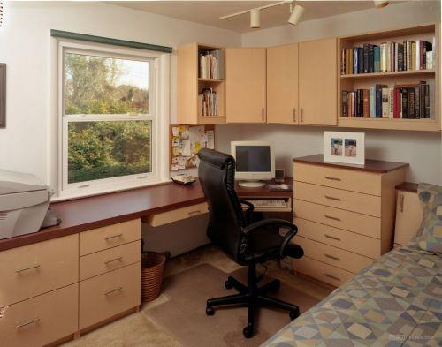 温馨舒适的书房设计